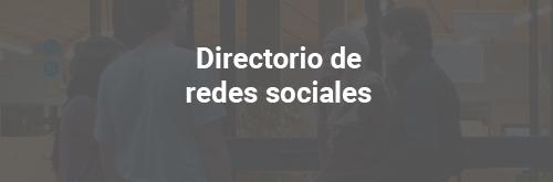 Directorio de redes sociales
